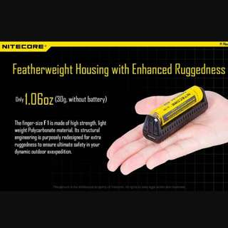 Nitecore F1 Portable Charger Cum POWERBANK