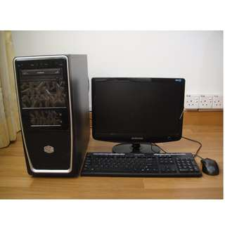 Complete Desktop PC System Intel Core i3