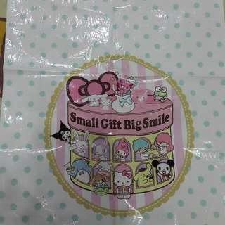 日本Sanrio膠袋