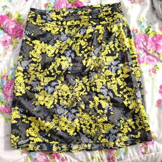 The Executive Pattern Skirt