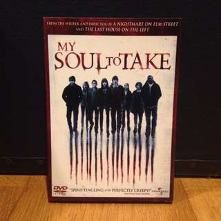 My Soul To Take (Original DVD)