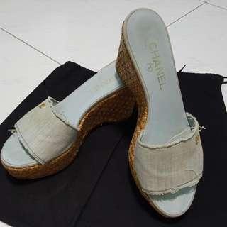 CHANEL Platform Shoe