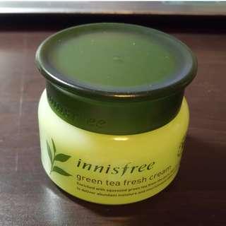 innisfree 綠茶零油光水凝霜 8成新