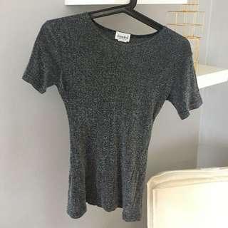 Grey Sparkly Tshirt