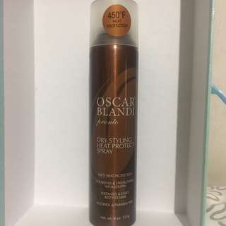 Oscar Bland Pronto Dry Styling Heat Protectant Spray 4 Oz / 113 G for Women by Oscar Blandi.
