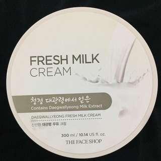 The Face Shop Fresh Milk Cream