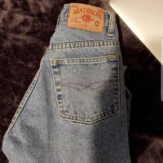 Vintage High Waisted Madison Jeans