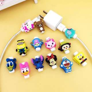 Cute Character Cable Saver Lightning Cord Protector