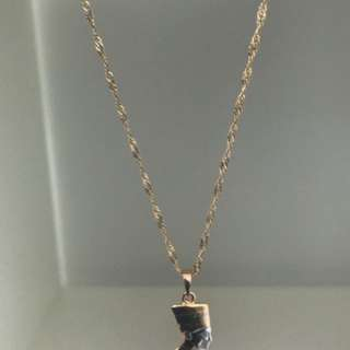 Nefertiti Pendant Necklace