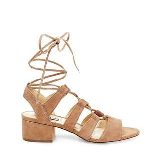 NEW Steve Madden Suede Lace Up Sandals
