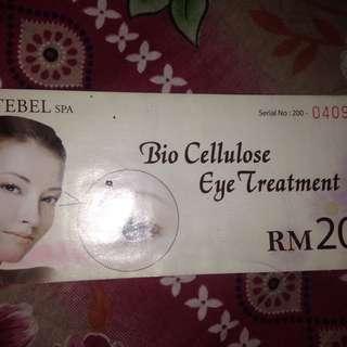 Bio Cellulose Eye Treatment Voucher