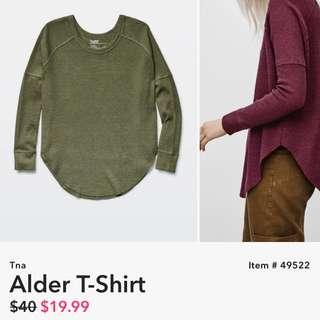 TNA Green Alder Shirt