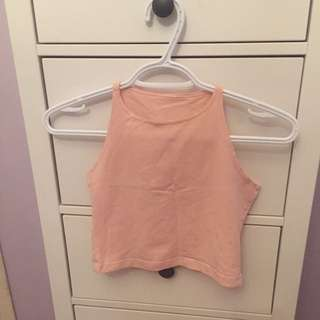 American Apparel Pink Top