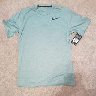 Green Nike Dri-Fit Shirt