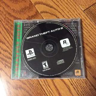 Grand Theft Auto 2 for Playstation