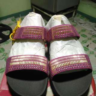 💯✔Authentic and Brand New Fitflop Aztek Chda Slide US9 Rio Pink