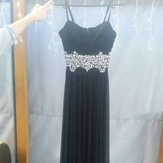 Black Pagani Dress, Size 8