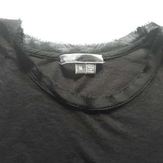 Vince Cotton/Silk T Shirt, size Medium