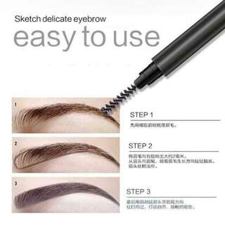 NAKED 2 in 1 Eyebrow Brush/Pencil
