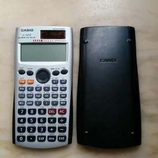 Casio FX-50FH 計算機~ H.K.E.A.A. Approved