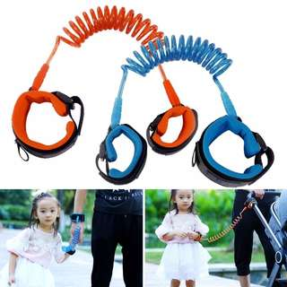 Baby Child Anti Lost Safety Velcro Wrist Link Traction Rope