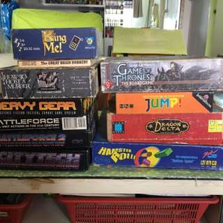 Assortment Of New Board Games