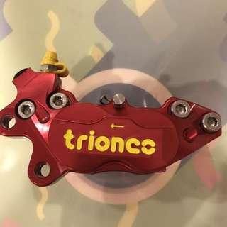 川歐力士 TRIONES CNC切銷 基本對四卡鉗