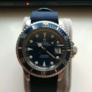 Rolex Tudor Submariner Ref.76100 (Blue) 40mm Men Size