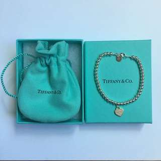 NEW Tiffany & Co 'Return To Tiffany' Bead Bracelet