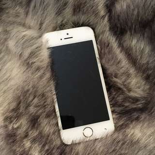 White Gold Iphone 5s 16G