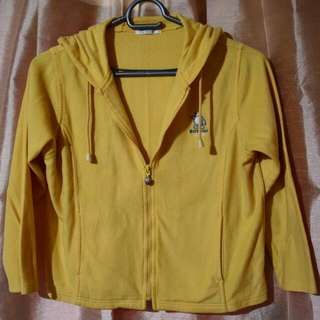 Bossini Girls Yellow Sweater