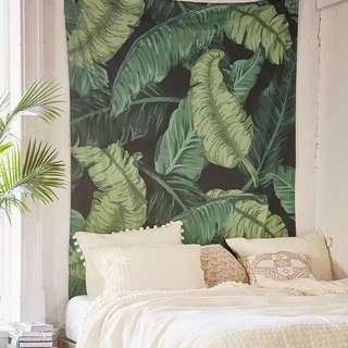 芭蕉葉壁毯 Banana Leaf Tapestry