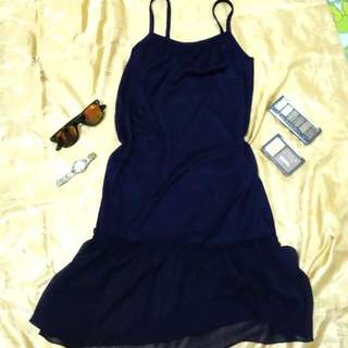 REPRICED! Night Gown Black
