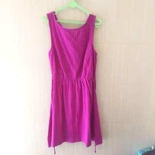 PRIMARK Purple Lace Dress