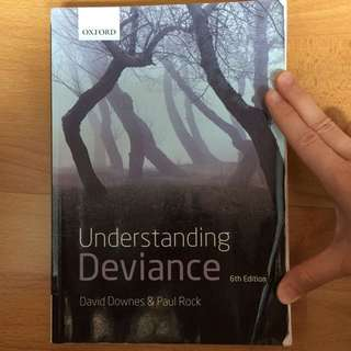 Understanding Deviance (6th Edition) By David Downes & Paul Rock