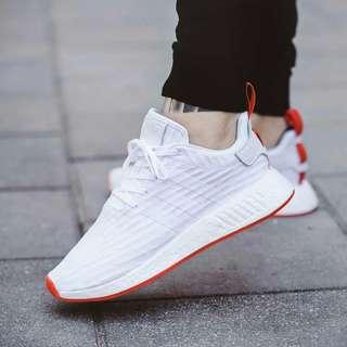 Adidas NMD R2 Core White FREE ONGKIR