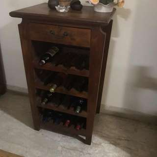 WINE HOLDING CABINET