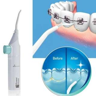 Power Floss Water Jet Flossing System Air and Water Dental Flossing