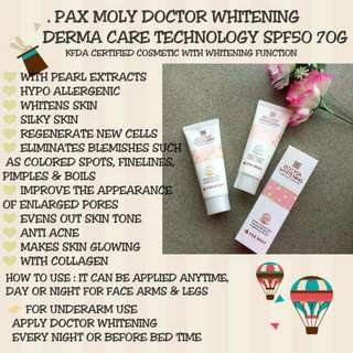 pax moly doctor whitening