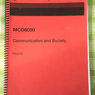 Communication And Society