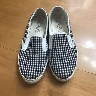 Top Shop 格仔鞋
