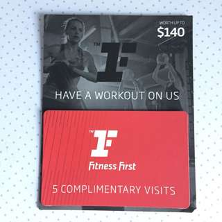 Fitness First Gift card