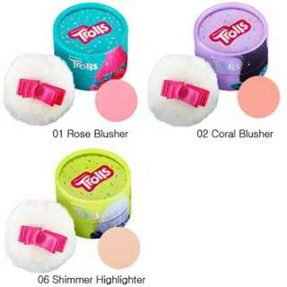 The Face Shop Cushion Blusher Trolls Edition