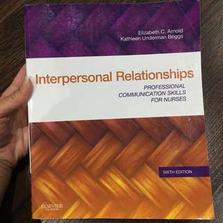 Arnold & Boggs - Interpersonal Relationships 6th Edition