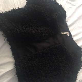 Fashion black bolero