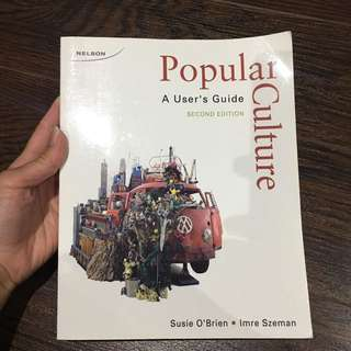 Pop Culture By O'Brien 2nd Edition