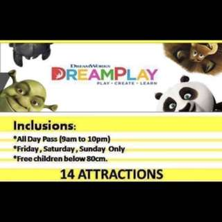 DISCOUNTED CITY OF DREAMS MANILA - DREAMPLAY WEEKEND PASS