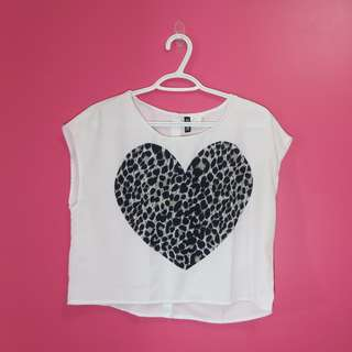Heart Cropped Top