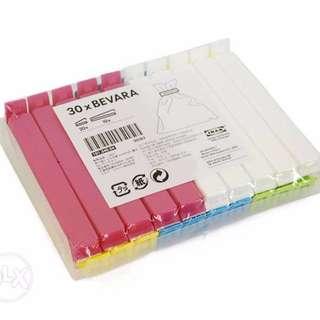 Brand New IKEA Bevara - klip penutup plastik