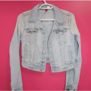Light Washed Jean Jacket